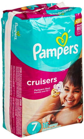 Pampers · Disposable · Size 7 · 64 Count