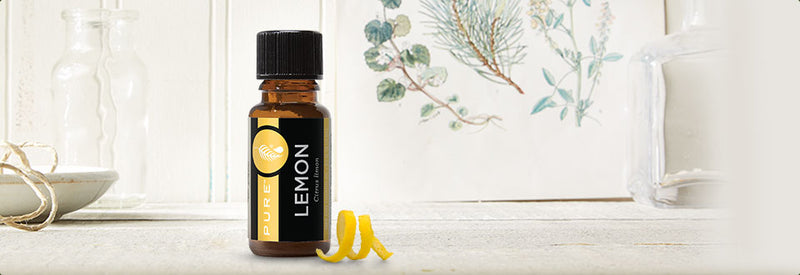 Lemon Essential Oil - Detox - Disinfect - Skin - Freshener - Cleaning - Sanitize - Anti-Depressant