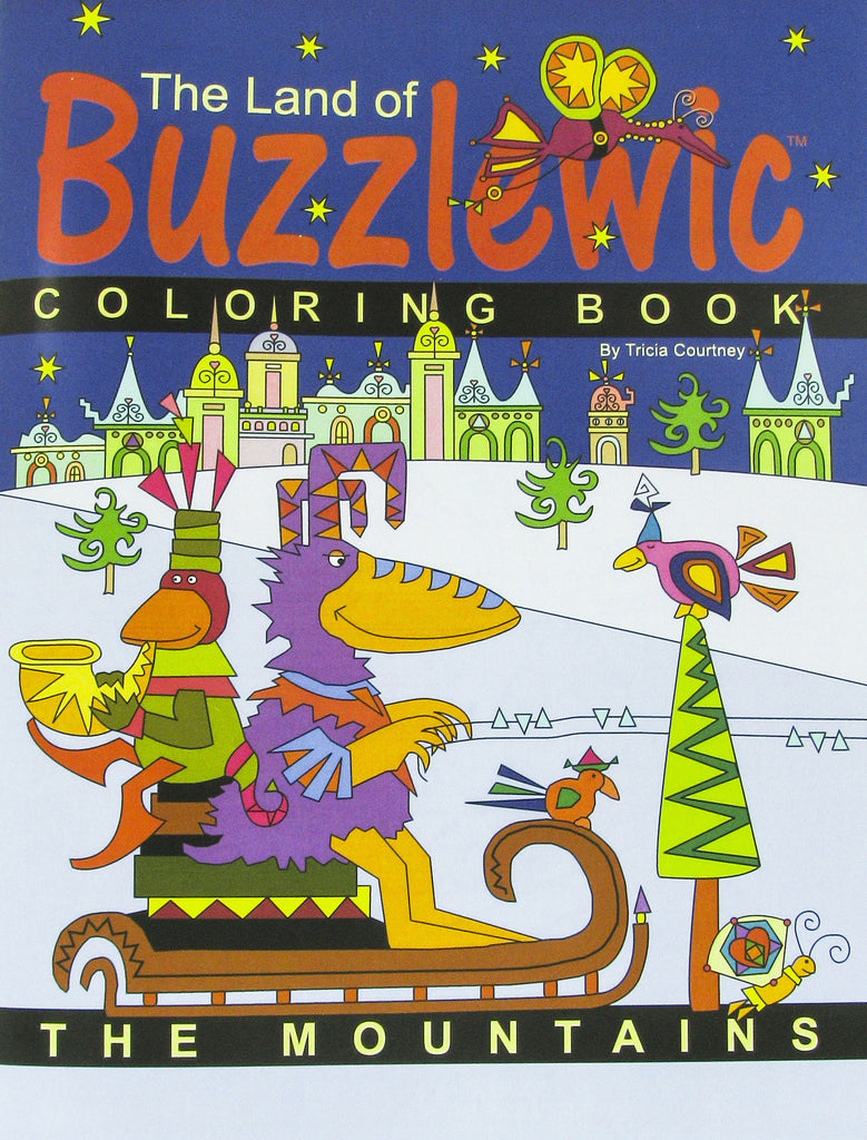 Coloring book for adults for pc -  Coloring Books For Children The Land Of Buzzlewic 3 Pc Set