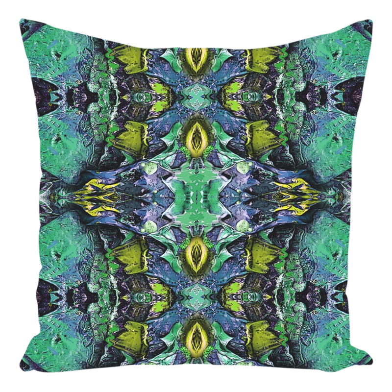 Throw Pillow in Teal Green for Sofa Couch or Bed for Living Room Bedroom or Family Room - 14