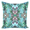 "Throw Pillow Teal Aqua Green for Sofa Couch for Living Room Bedroom or Family Room - 14"" X 14"""