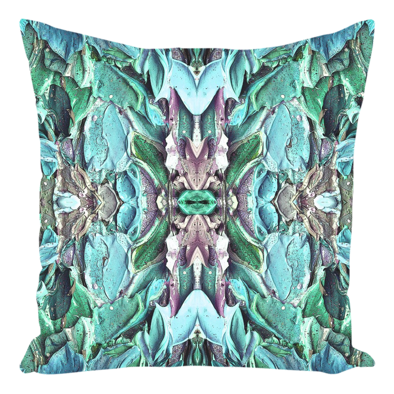 Throw Pillow Teal Aqua Green for Sofa Couch for Living Room Bedroom or Family Room - 14