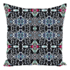 Throw Pillow in Grey Black & White in a Modern Mosaic Design - Sofa Couch or Bedroom
