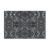 Wall Art in Neutral Grey & Black in a Contemporary Modern Design Printed on Canvas