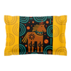 Pillow Sham with a Whimsical Horse Design for Your Kids Children's Bedroom
