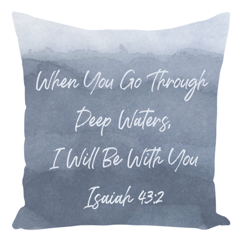Throw Pillow, Christian Scripture, Pillows with Sayings, Christian Decor, Quote Pillow, Religious Pillows, Inspirational Pillow, Bible Verse