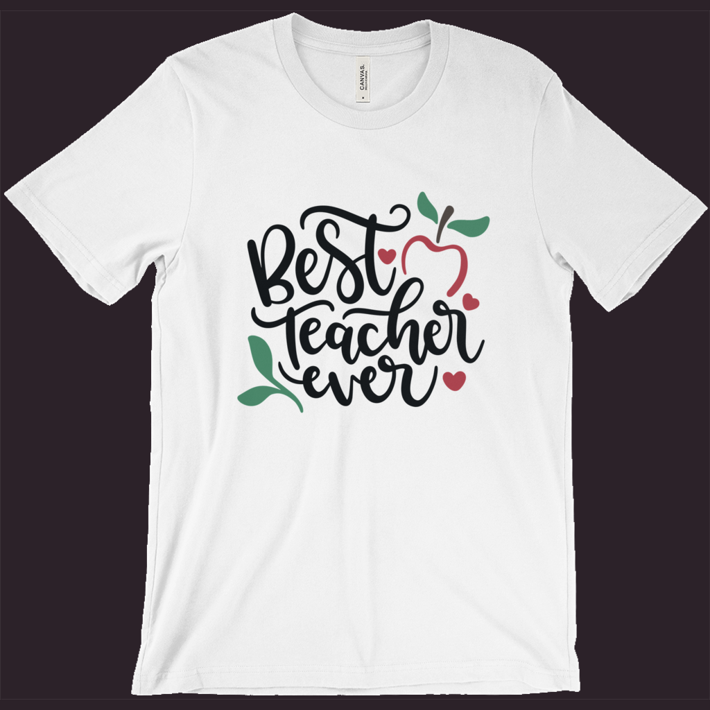 Teacher T-Shirt | Best Teacher Ever | Favorite Teacher Shirt | Womens Tee