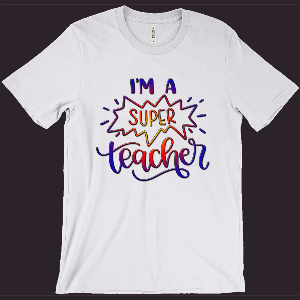 Teacher T-Shirt | Super Teacher Shirt | Favorite Teacher Shirt | Womens Tee | Mens T-Shirt