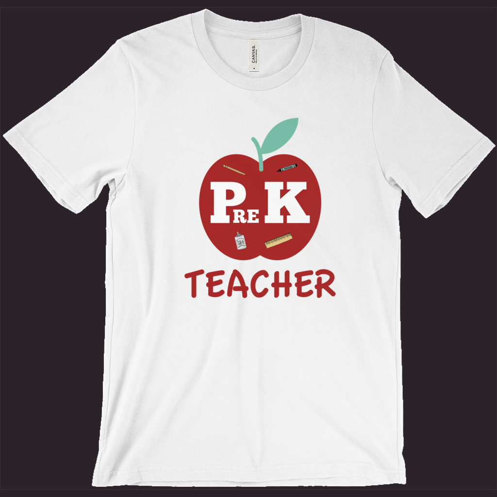 Teacher T-Shirt | Pre-K Teacher | Pre-Kindergarten Teacher Tee | School Shirt | Teacher Gift