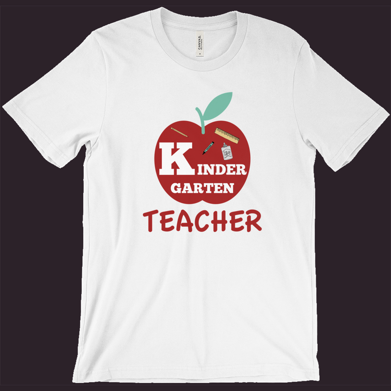Teacher T-Shirt | Kindergarten Teacher | Kindergarten Teacher Tee | School Shirt | Teacher Gift