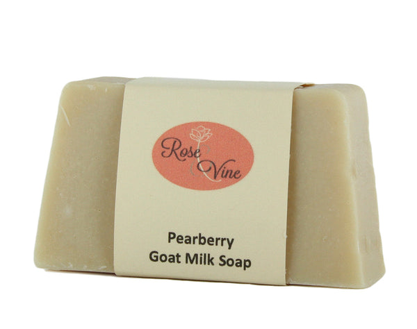 Goat Milk Soap Handmade USA Natural (1 Bar, Pearberry)