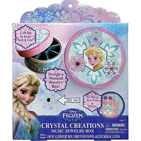 Disney Frozen Crystal Creations Music Jewelry Box by Tara Toy Corporation