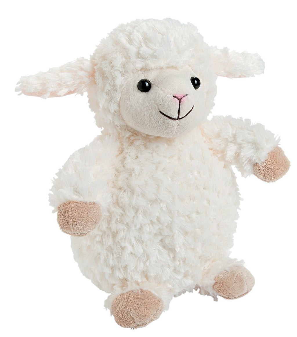 "Sheep Lamb Toy - Soft Plush White 12"" Tall"