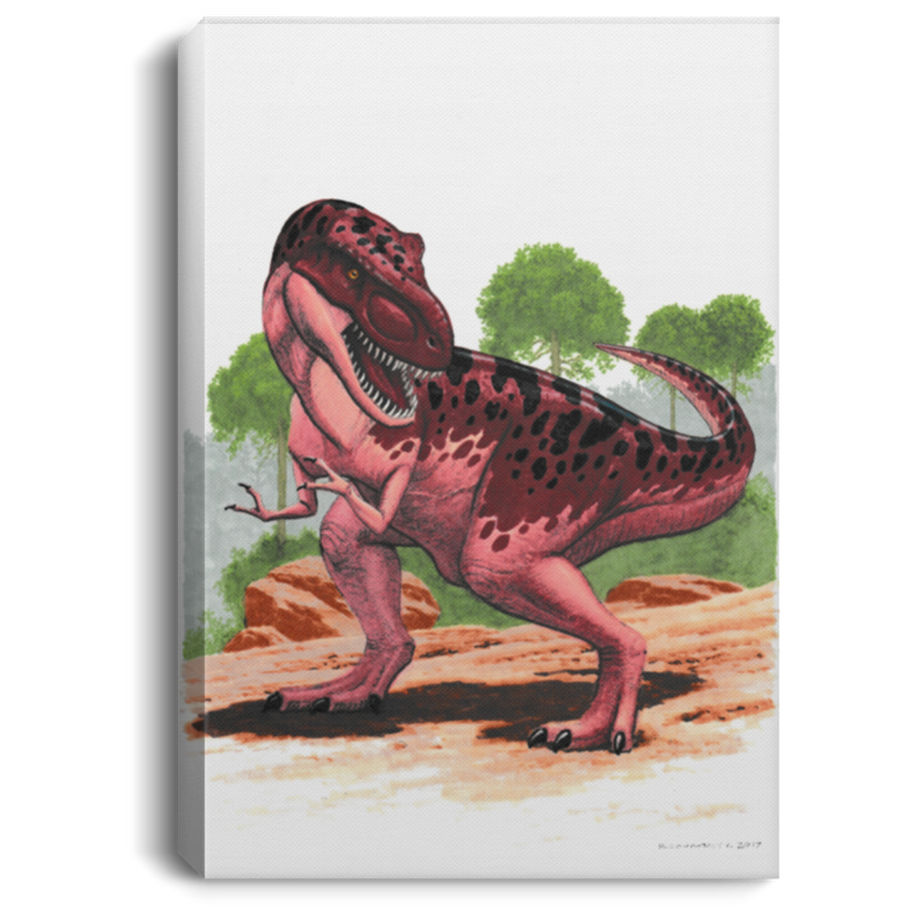 Dinosaur Wall Art Decor for Kids Bedroom, Playroom or Nursery - T-Rex
