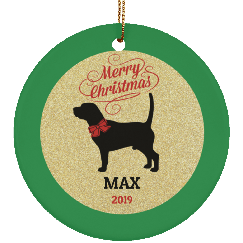 Christmas Dog Beagle Ornament