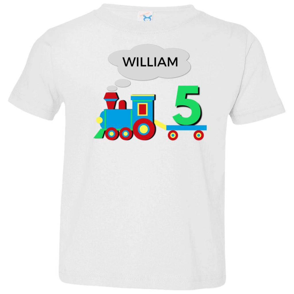 Personalized Birthday Shirt Boy 5 Year Old Shirt Fifth Birthday Tee