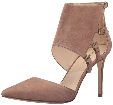 Nine West Women's TrustMe Dress Pump Natural Suede