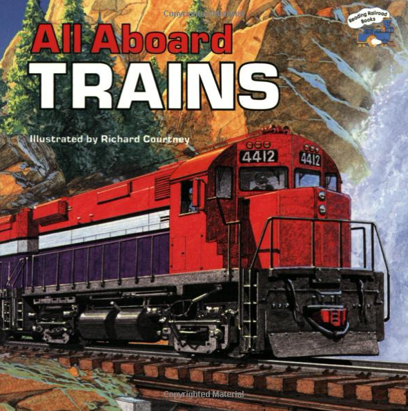 All Aboard Trains (Reading Railroad) [Paperback] [Mar 15, 1989] Mary Harding