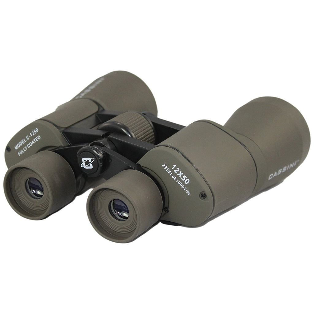 Cassini Astro Binoculars C-1250 12x50mm, Charcoal