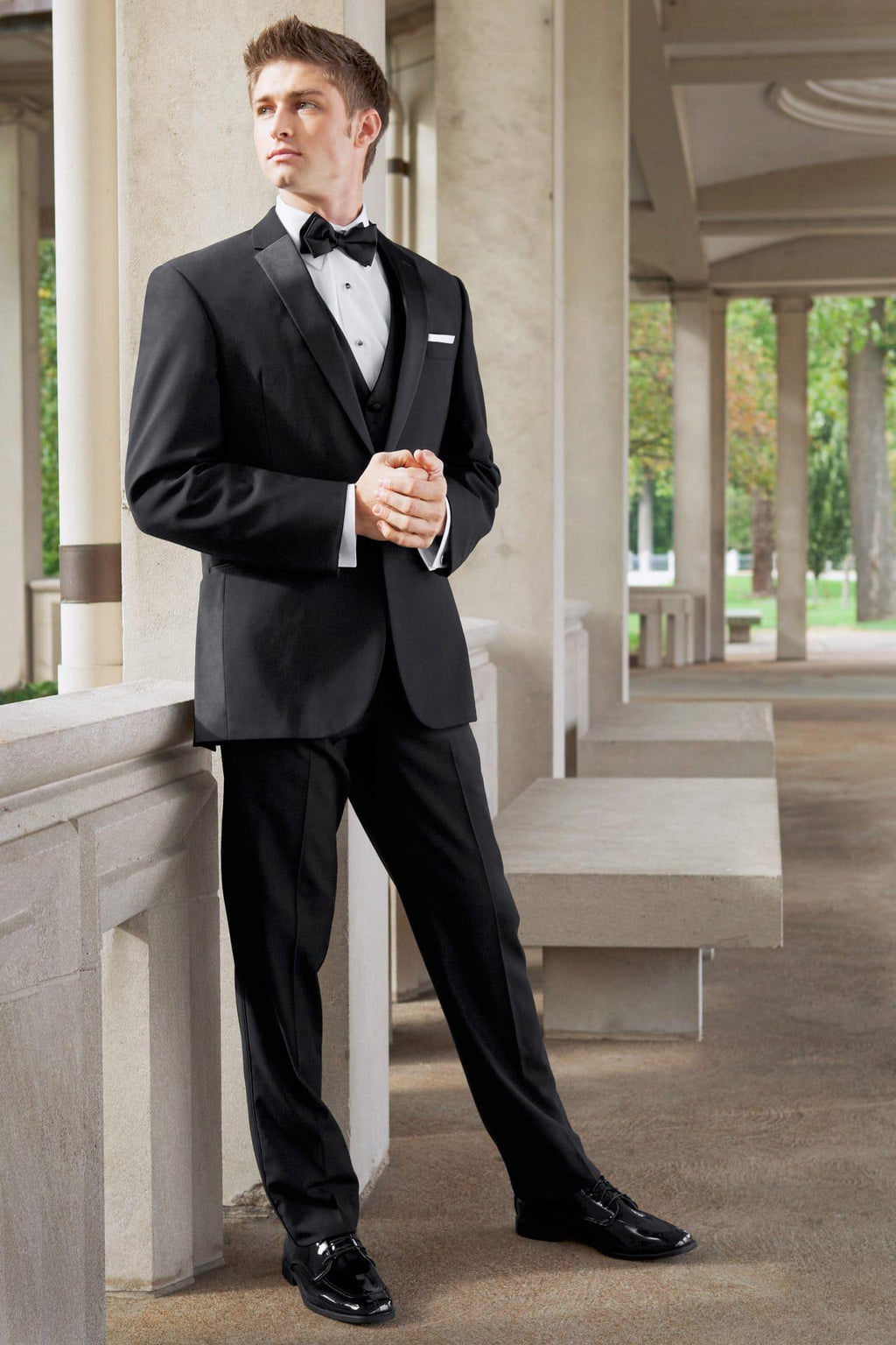 Black Tuxedo Rental for Wedding, Prom or Formal Occassion
