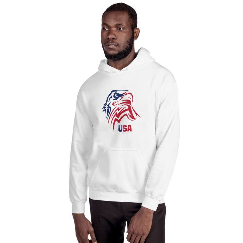Patriotic Eagle Head Flag Patriotic Hoodie American Pride Freedom Sweatshirt Hooded Jacket Clothing Proud to be an American