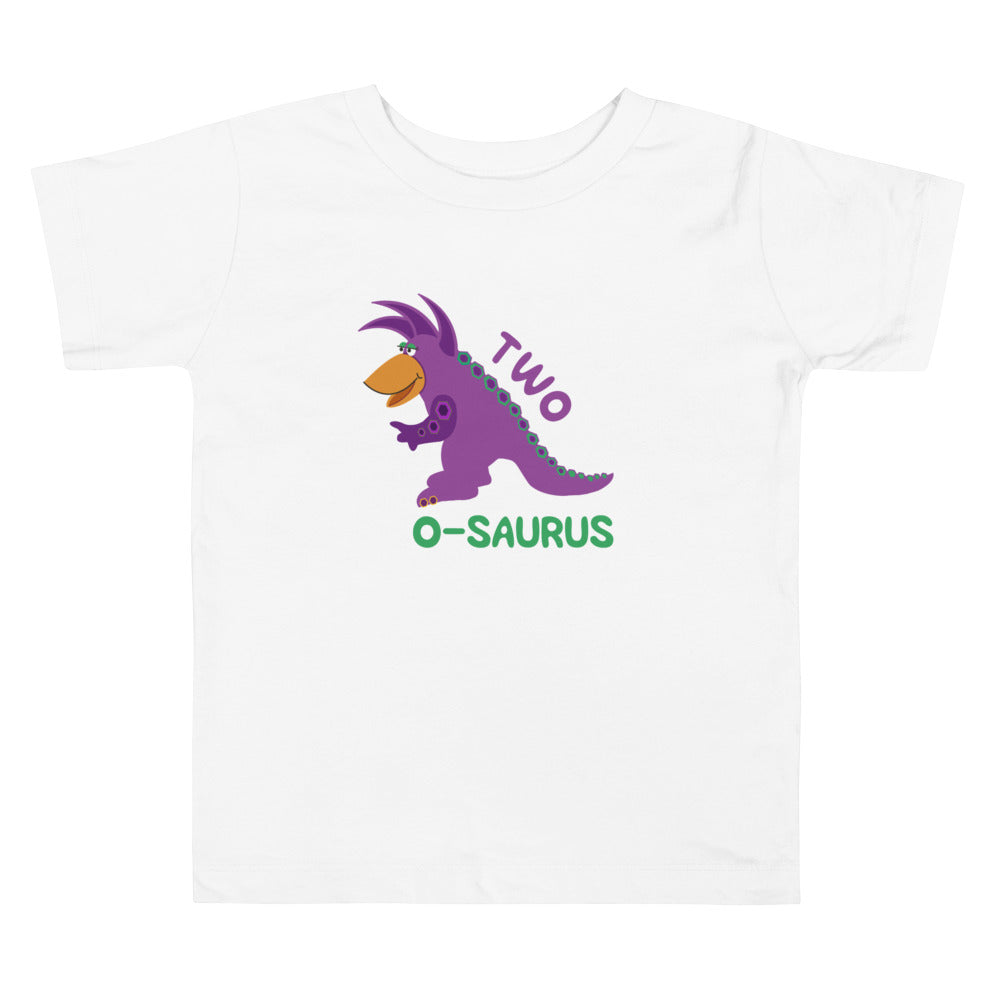2 Year Old Shirt Second Birthday Shirt Boy Girls 2nd Birthday Shirt Purple Dinosaur Birthday Shirt Gift for Kids