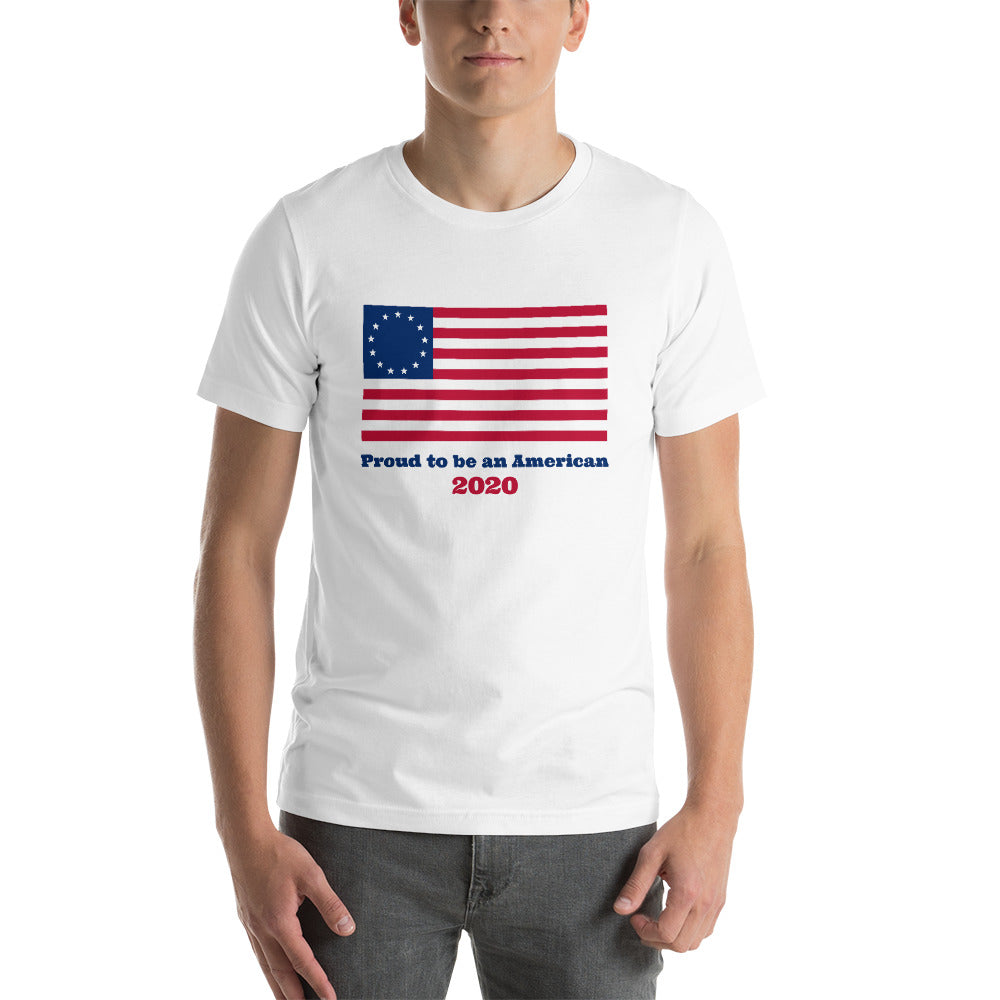 American Pride Betsy Ross T-Shirt Patriotic Shirts Patriotic Flag Clothing Election 2020 Freedom Liberty Stars and Stripes