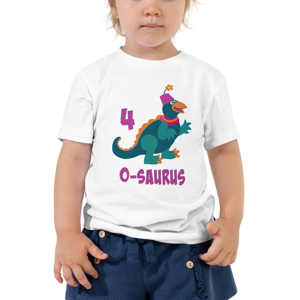 Birthday Shirt Boy 4 Year Old Shirt Fourth Birthday Shirt Boys and Girls 4th Birthday Shirt with Green Dinosaur Birthday Shirt Gift for Kids