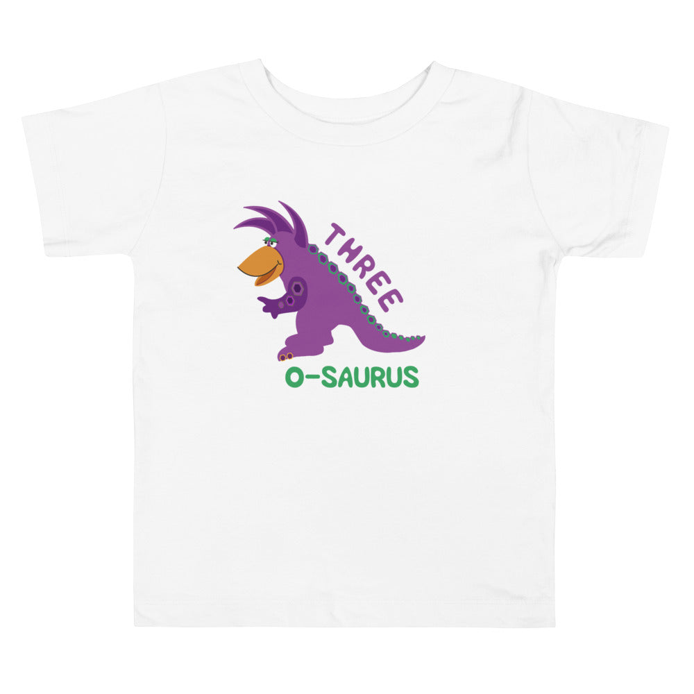 3 Year Old Shirt Third Birthday Shirt Boy Girls 3rd Birthday Shirt Purple Dinosaur Birthday Shirt Gift for Kids