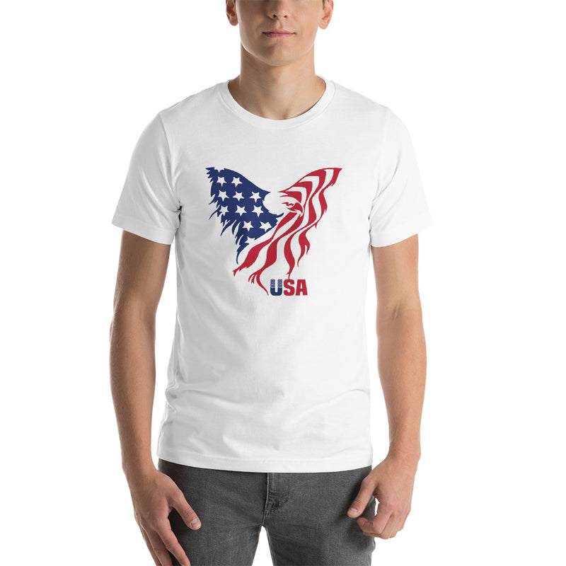 American Eagle Flag Freedom Shirt Clothing Stars and Stripes Patriotic Shirts American Pride Proud to be an American I Love America Tee USA