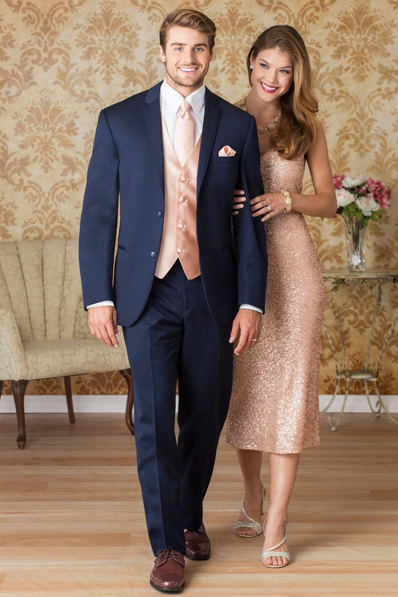 Navy Rental Business Suit for Wedding, Prom or Formal Occassion