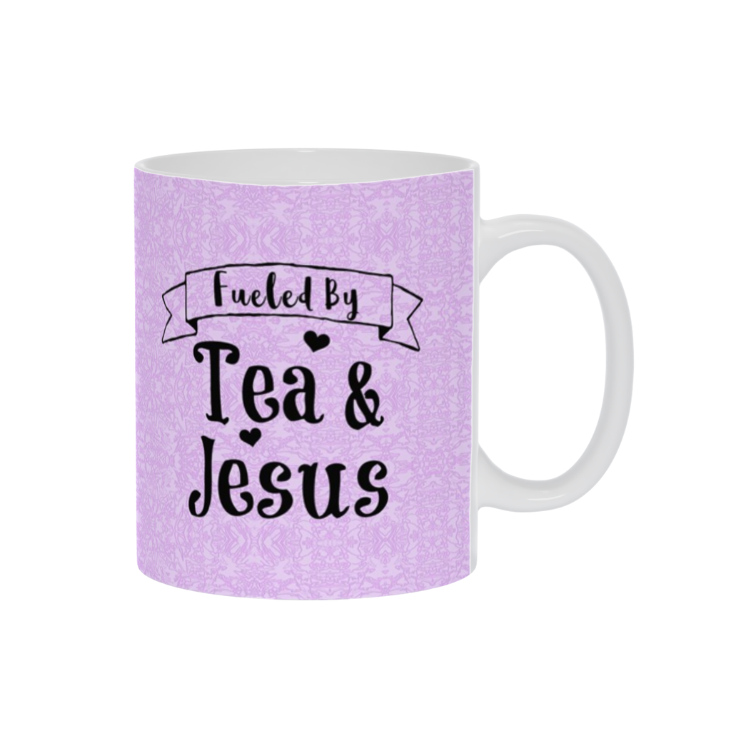 Coffee Mug, Tea Cup, Tea Mug W/ Saying,Coffee or Tea Gift,Espresso Mug, Purple Mug,Funny Coffee Mug, Tea Lovers,Ceramic, Christian