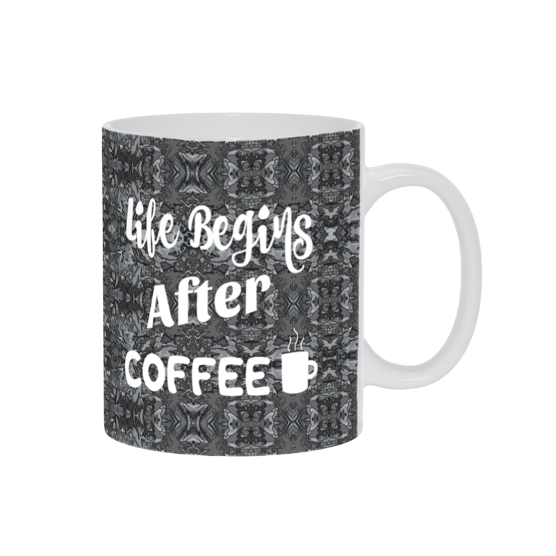Coffee Mug, Coffee Cup,Coffee Mug W/ Saying,Coffee Gift,Espresso Mug, Grey Mug,Funny Coffee Mug,Coffee Lovers,Ceramic