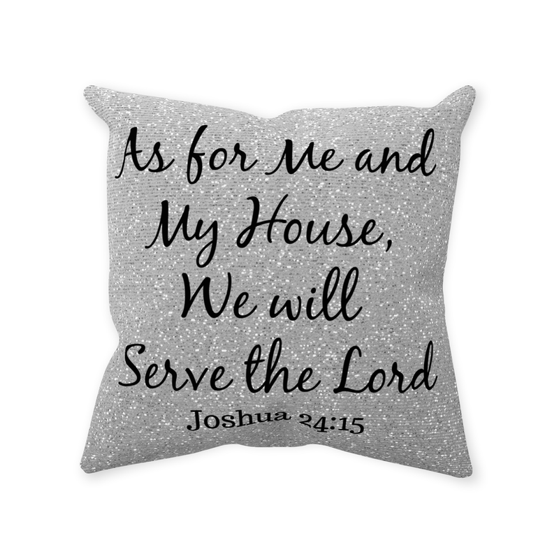 Throw Pillow,Christian Scripture,Pillows With Sayings,Christian Decor,Quote Pillow,Religious Pillows,Inspirational, Grey Pillow,Bible Verse