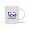 Coffee Mug, Coffee Cup, USA, Patriotic Gift, Red White Blue, Coffee Lovers, Tea Mug, Patriotic Mug, American Mug, Gift Mug, Coffee Gift
