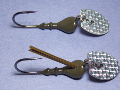 Bladed Vibrating Jigs :  Head and blade only