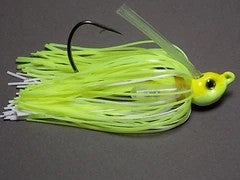 Poison Tail: Tournament Line : Chartreuse/ White