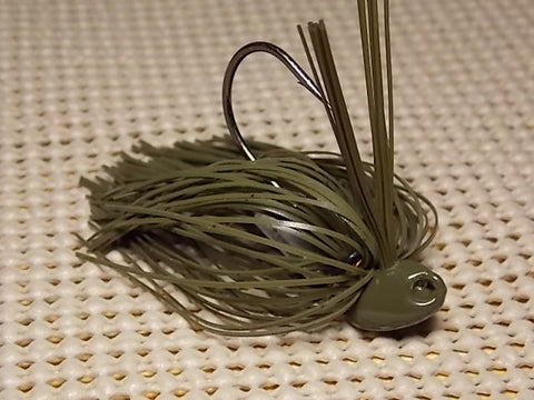 New Pitchin / Flippin Jig, Tournament Line: Green Pumpkin