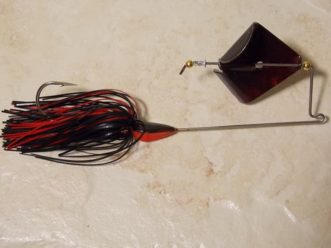Buzz Bait: Black/ Red