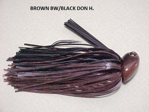 Flippn/Pitchn Jig: Brown Barb Wire/ Black (Don H)