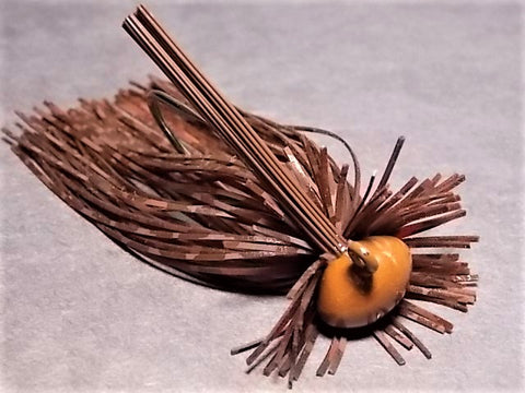 Finesse Football Jigs: Brown BW