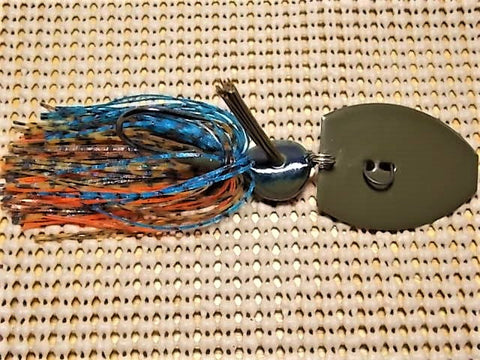 Magnum 3/4 oz. bladed jig, Tom's bluegill