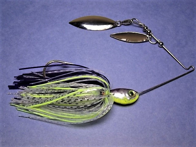 Double Willow Spinnerbait, Clear Water Series: Table Rock Shad