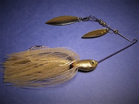 Double Willow Spinnerbaits : Gold Strike
