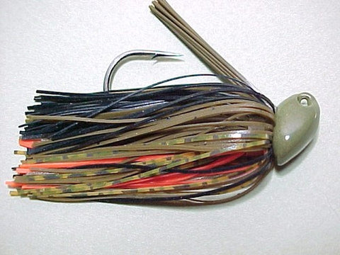 Flippin/Pitchin Jigs: Green Pumpkin/ Black/ Whiskey Hot Craw