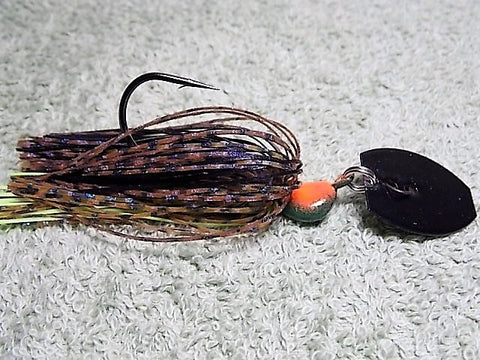 Bladed Swim Jig: Ozark Fire Craw