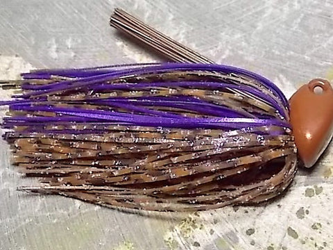 Flippn/Pitchn Jig:PB&J/ Metallic Purple