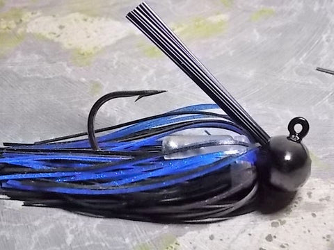 Football Jigs, Tournament Edition: Black/ Blue