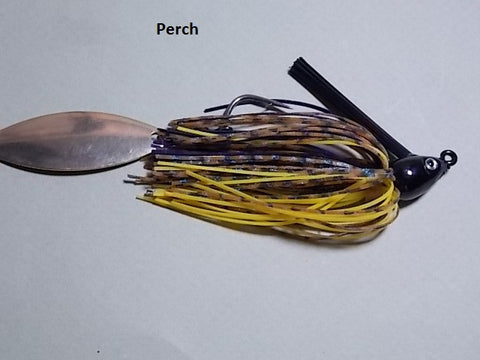 Switch Blade Jig: Black Perch
