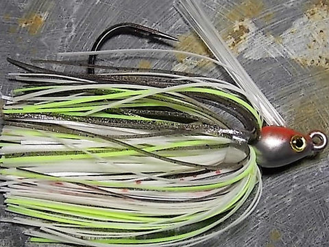 Premier Swim Jigs: Bloody Threadfin Shad